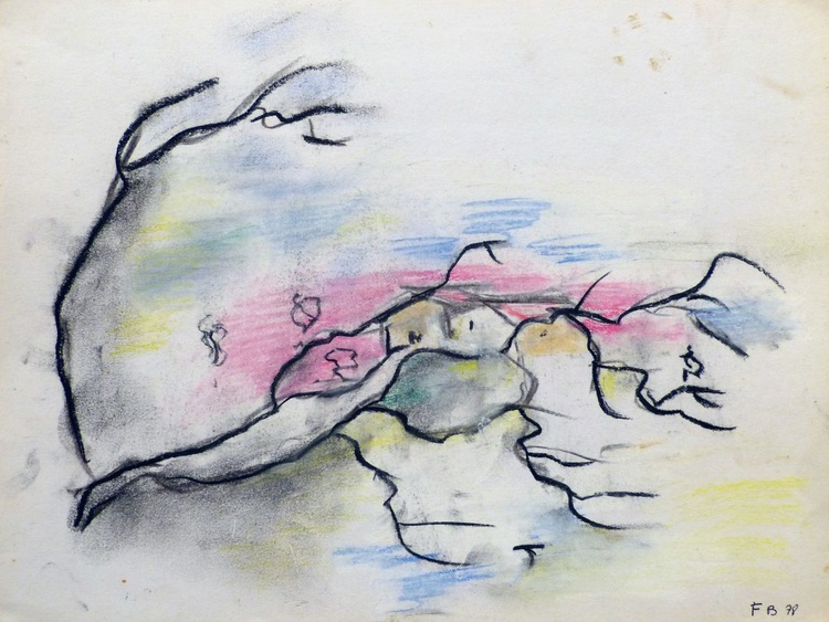 The Tree Landscape, 24x32 cm - Image 0