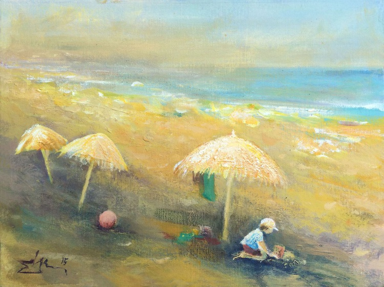 Game in the Sand - Image 0