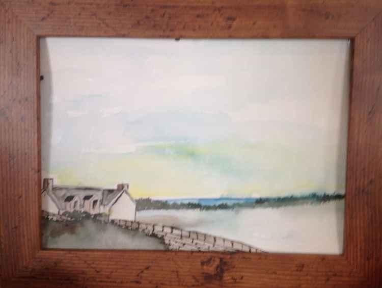 Farmhouse,isle of eigg -