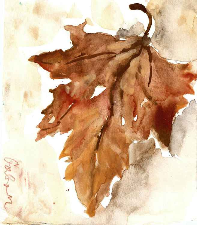 Autumn leaf -