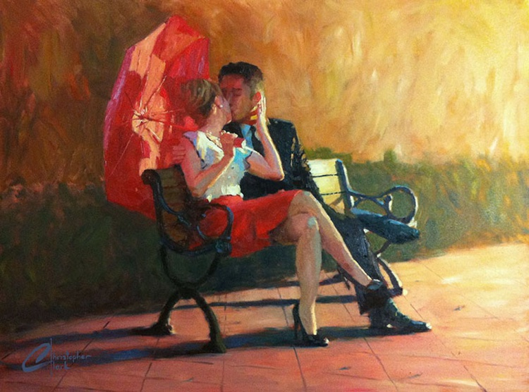 A Kiss in the Park - Image 0
