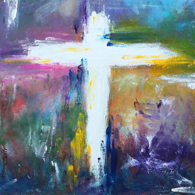 Cross - Painting #6 - Image 0