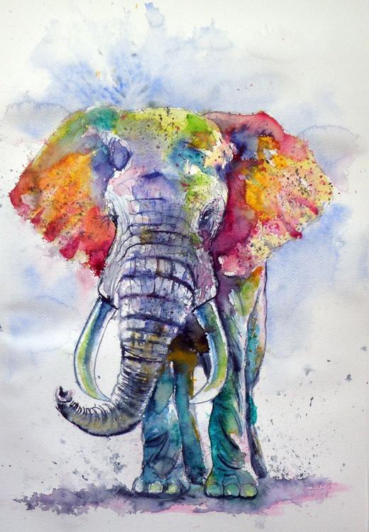 Colorful elephant - Image 0