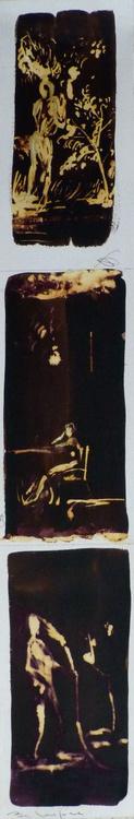 Triptych, 10x60 cm - Image 0