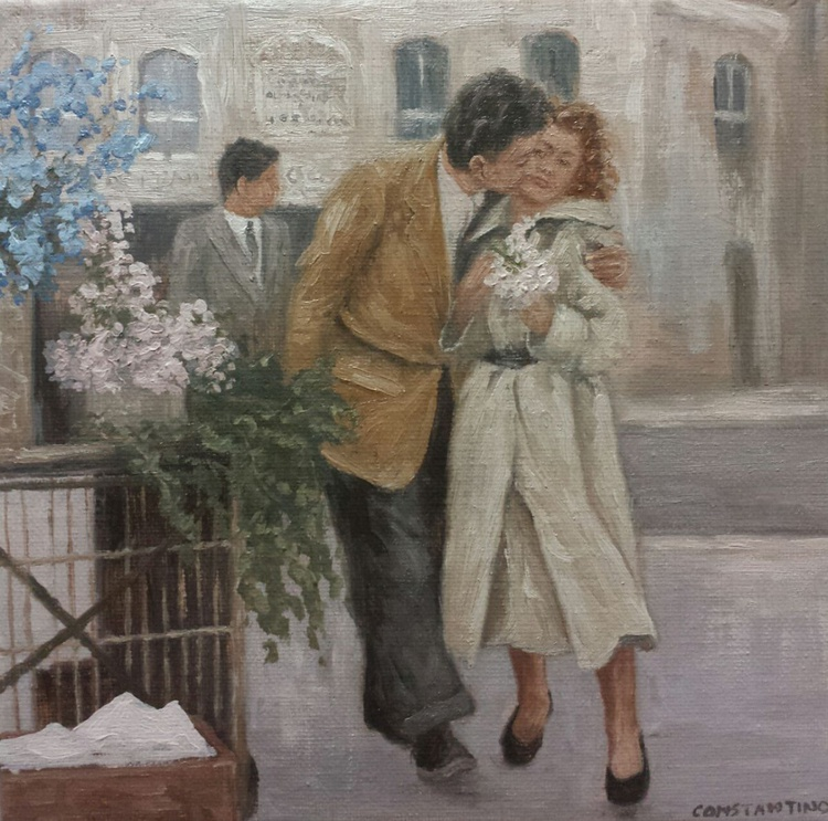Moments back in time - Young love - Image 0