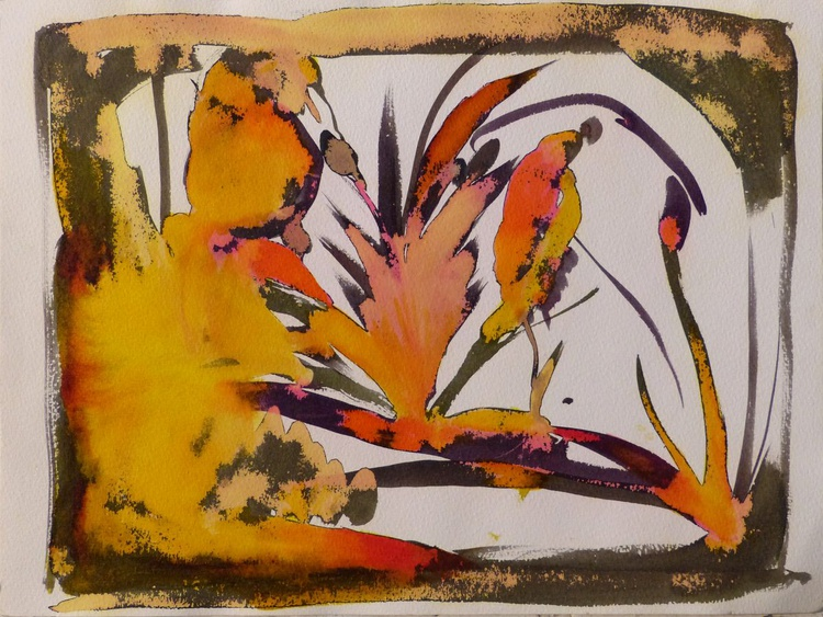 Summer Pond, 36x48 cm - Image 0