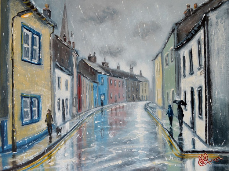 Reflections on St. Helen's Street - Image 0