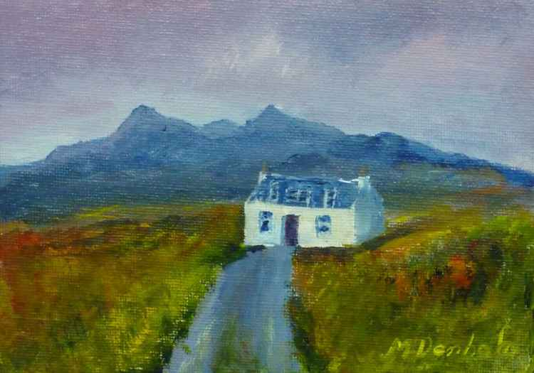 Cottage near the Cuillins