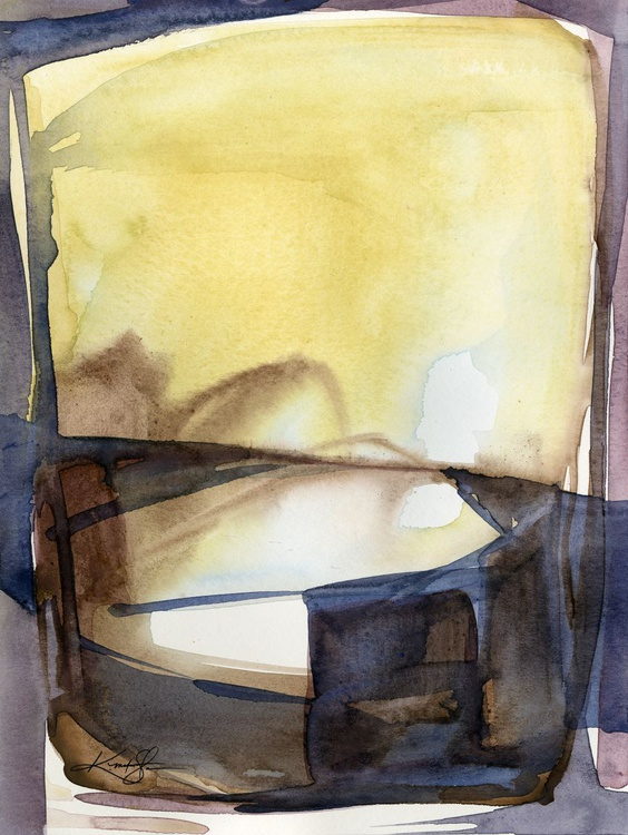 Introspection No. 17 - Abstract watercolor - Image 0