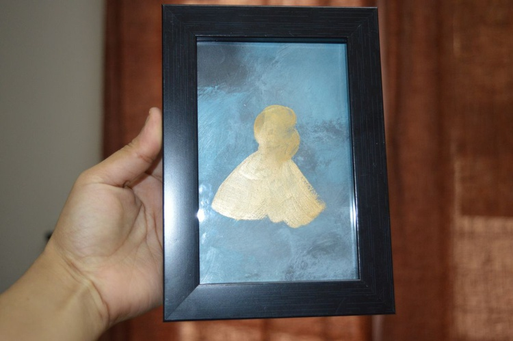 Human(12.5*18cms,Framed,Ready to Hang) - Image 0