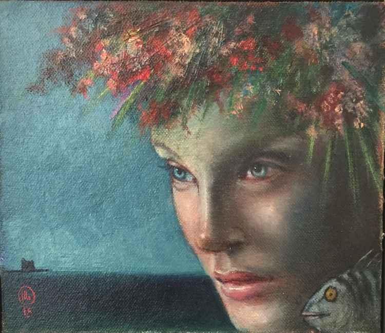 Piccolo fiore del mare. -