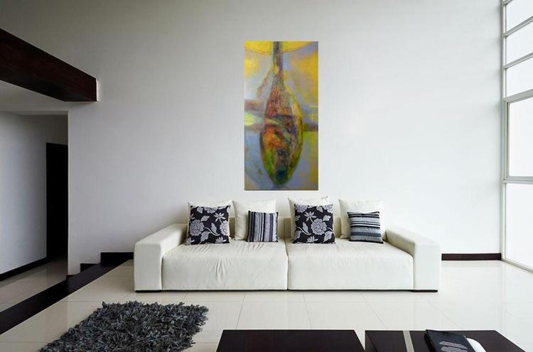 Amphore, oil on canvas 60x120 cm - Image 0
