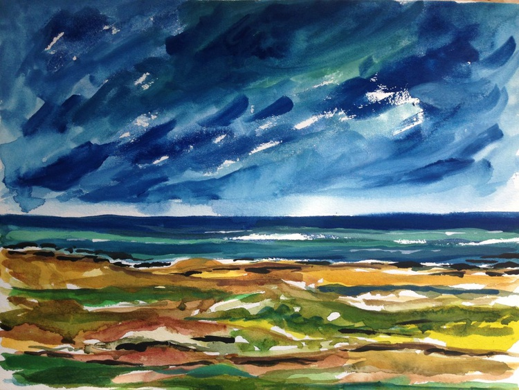 Stormy evening - Image 0