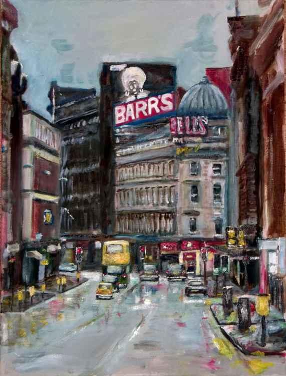 Irn Bru Renfield Street Glasgow c.1983