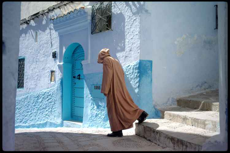 "Chefchaouen :  Series "" Walk on By "" 2"