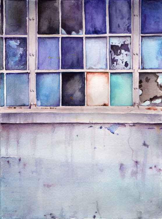 Windows - Watercolor Artwork -
