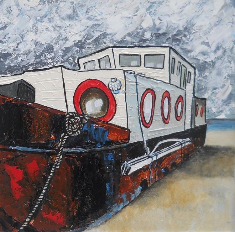 Rusting Boat No 1 - Image 0