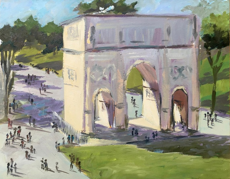 Arch of Constantine - Cityscape from Rome, Italy - Image 0