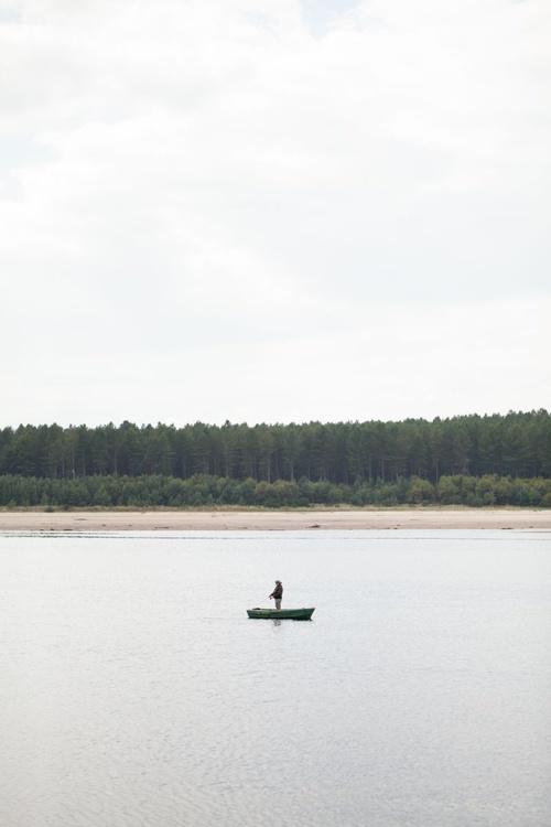 Lone fisherman - Image 0