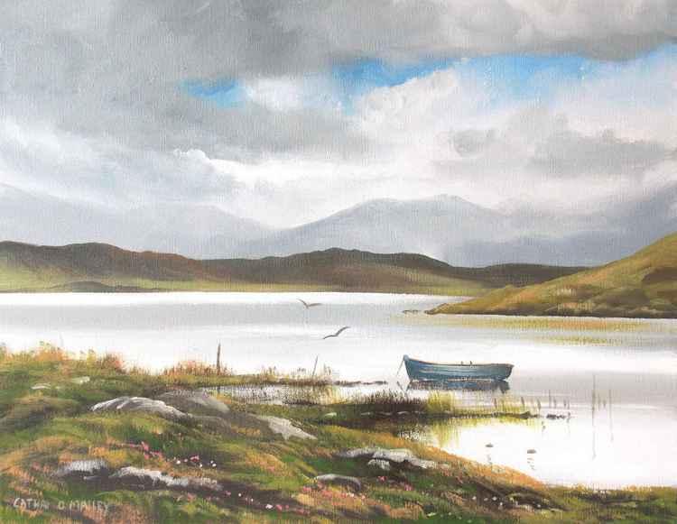 kylemore lake boat -