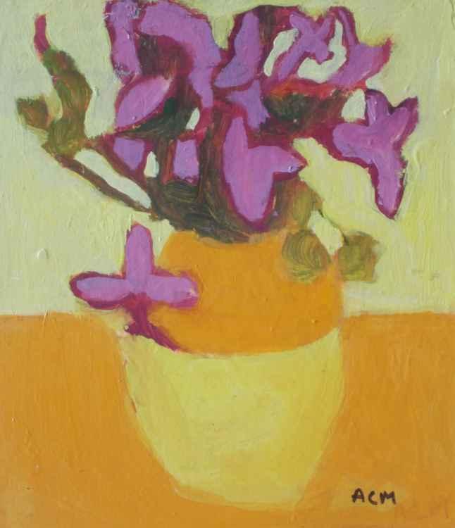 Fresh Flowers in Vase I-9