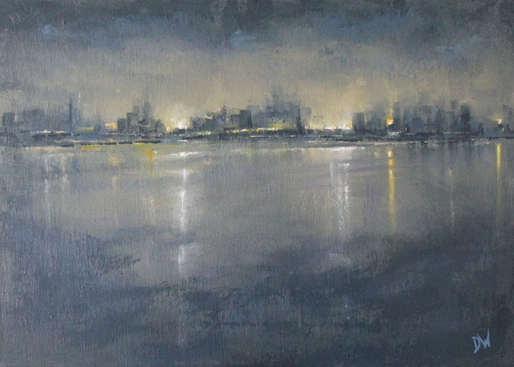 Nocturne: City Reflections - Image 0