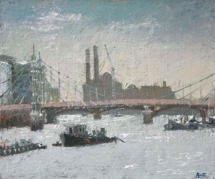 Albert Bridge, Chelsea Wharf, London