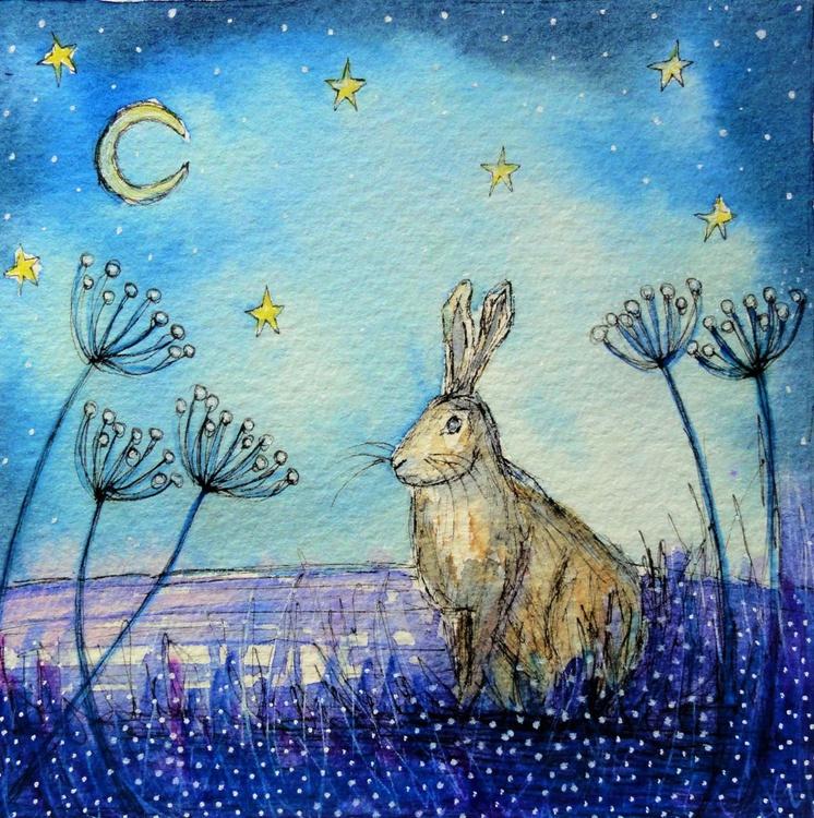 Moon Gazing Hare 2 - Image 0