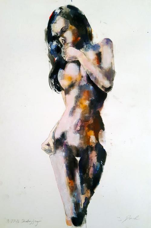 9-27-16 standing figure - Image 0