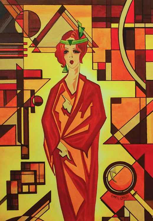 Art Deco Vogue -