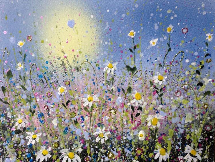 Daisy burst (framed) - Image 0