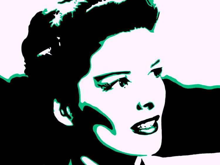 Katherine Hepburn - Premium Poster Print - 28 x 21 cm - FREE SHIPPING