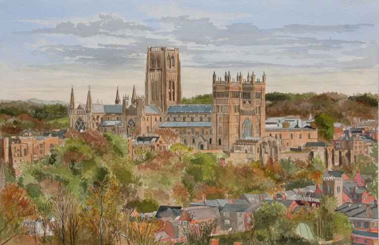 Durham Cathedral in the Aurtumn