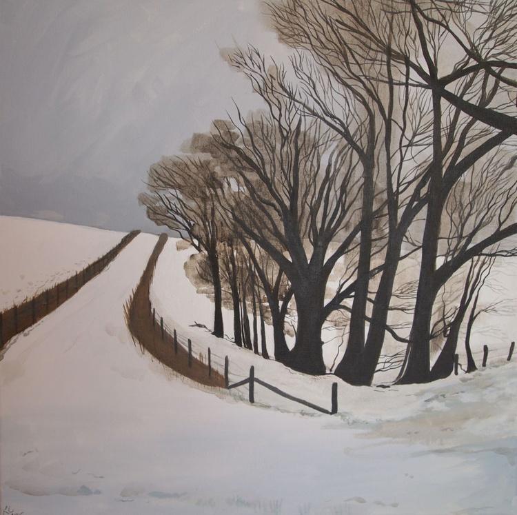 Snowy Lane - Image 0