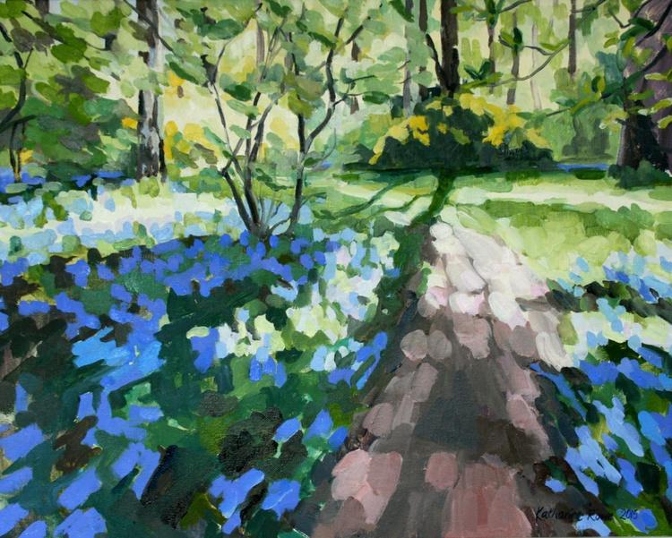 Bluebells in Isabella Plantation, Richmond Park - Image 0