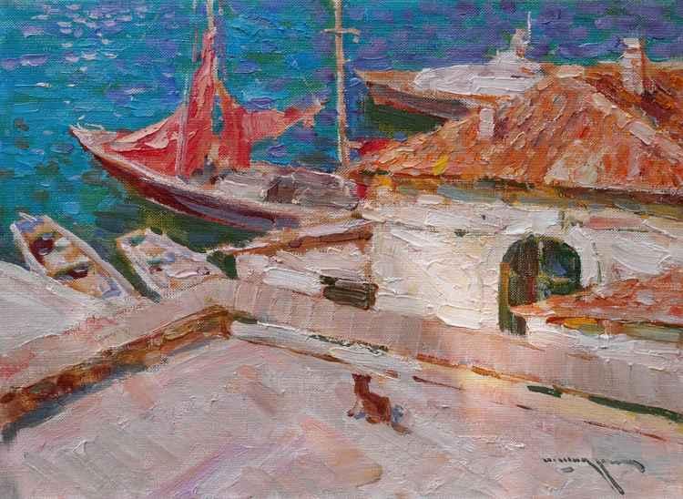 Scarlet sails -