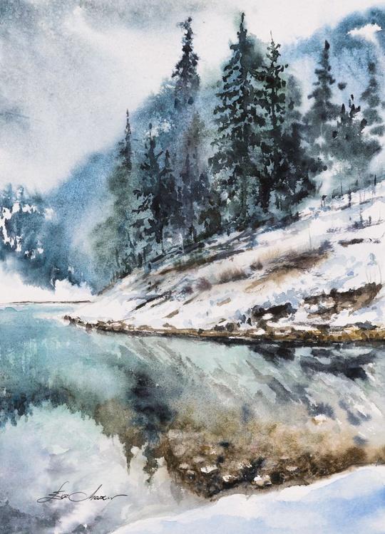 Winter lake - Image 0