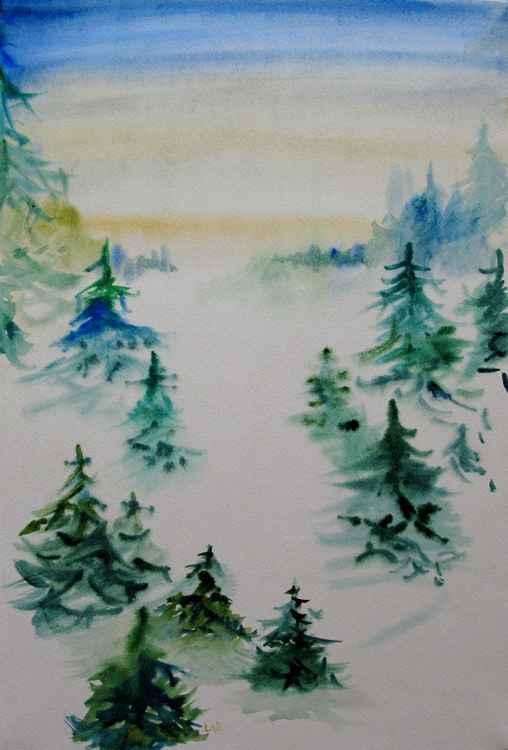 The winter's lanscape