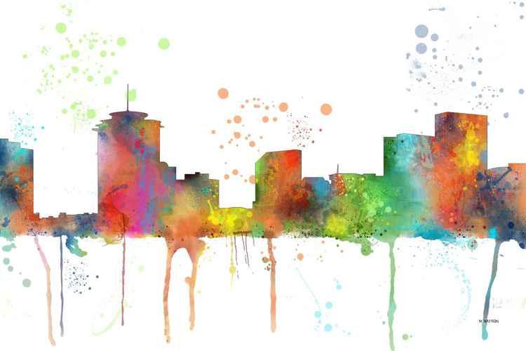 New Orleans Skyline MCLR1
