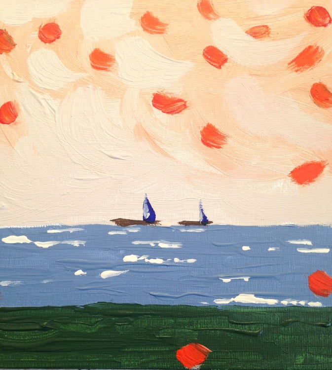 Sailing on a Fall day - Image 0