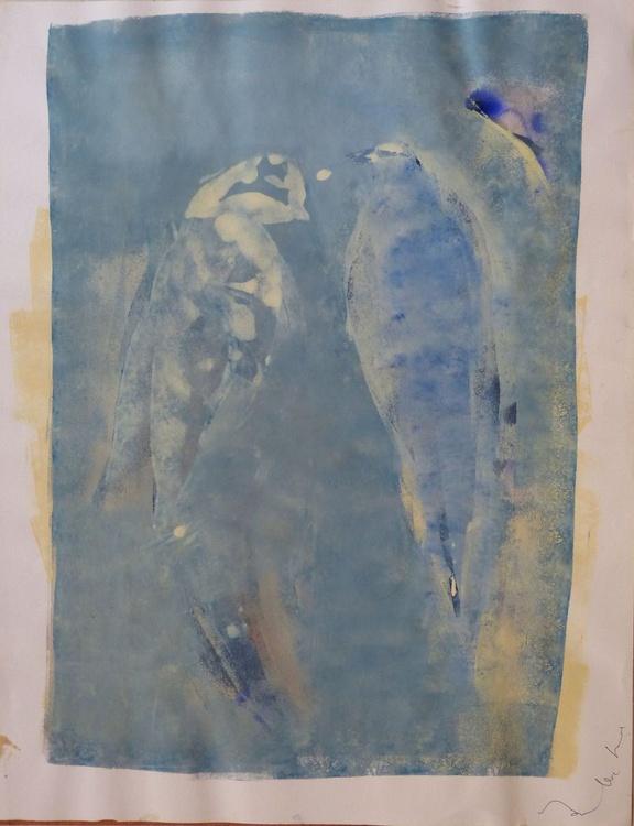 Aviary #2, 65x50 cm - Image 0