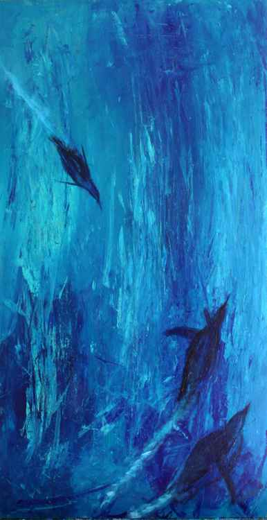 Diving Penguins -