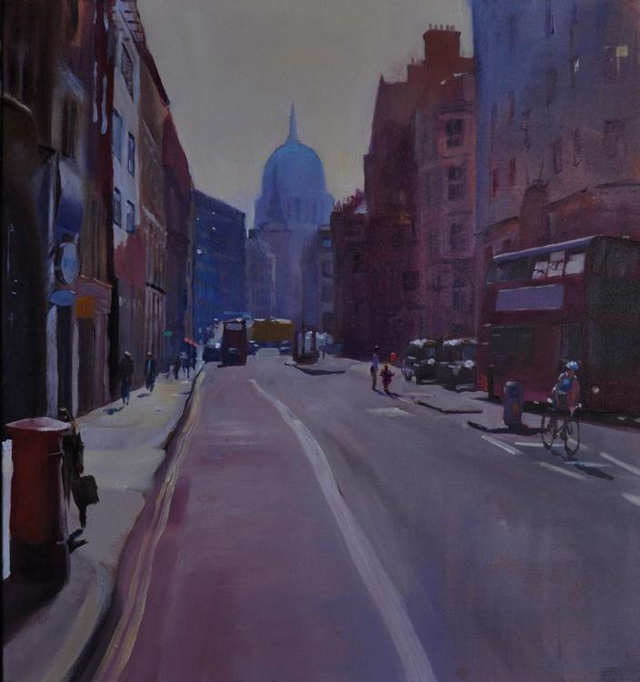 Fleet Street, Morning - Image 0