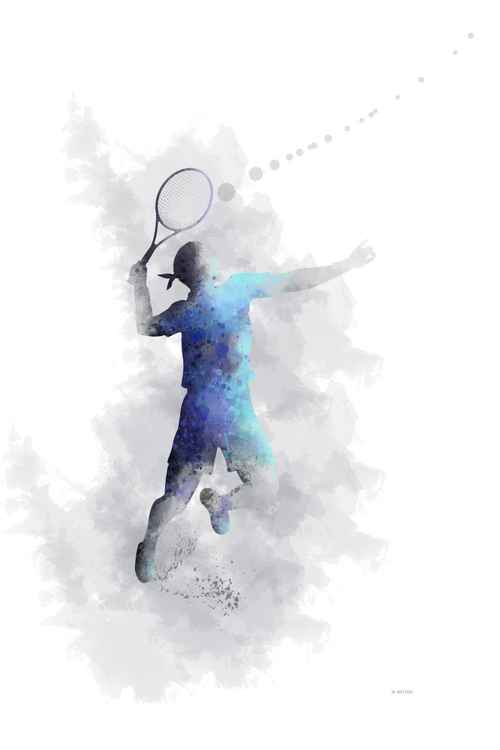 Tennis Player 1 -