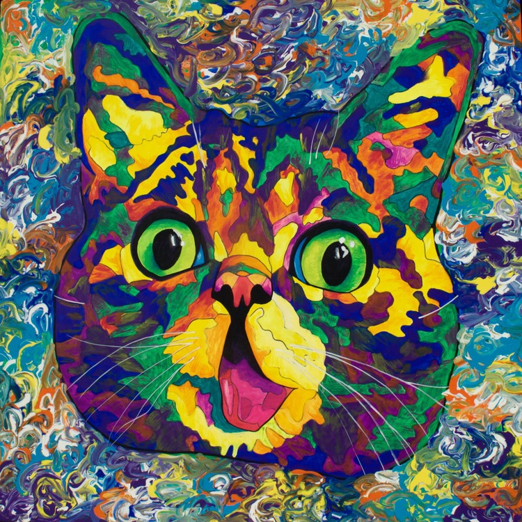 Famous Spectra- Lil Bub (30 X 30) - Image 0
