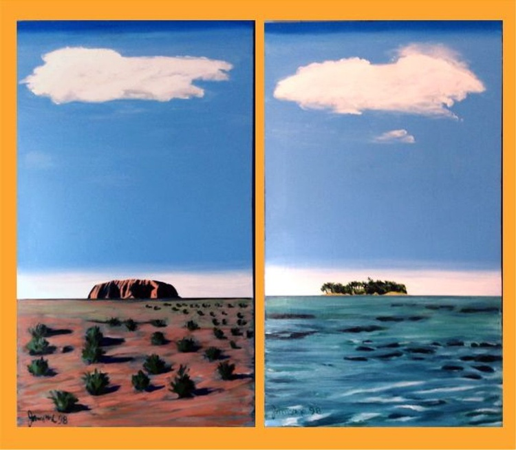 THE CENTRE AND THE SEA DIPTYCH - Image 0