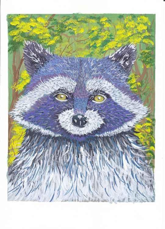 The raccoon(FREE-SHIPPING)