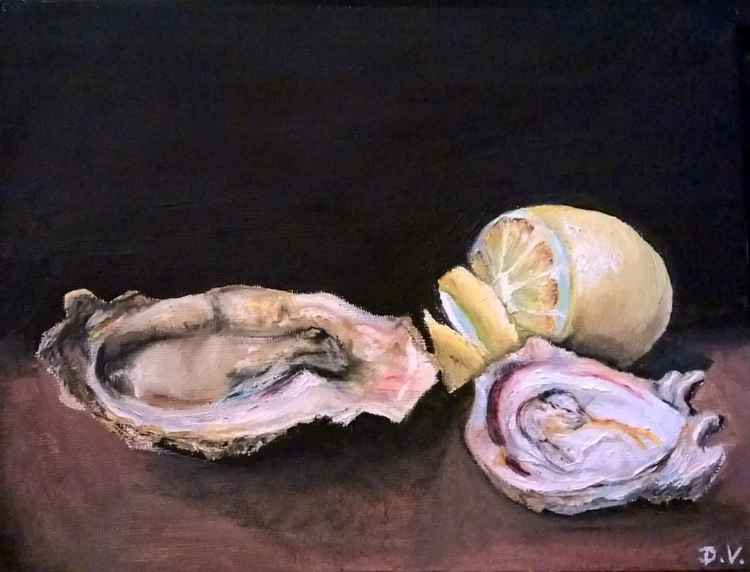 oyster still life -