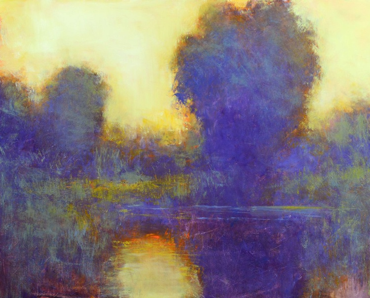 Pond Sunset 16x20 inches - Image 0