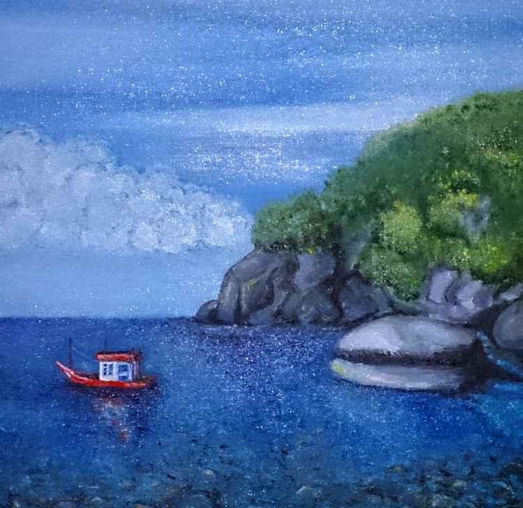 Bay in Koh Tao -